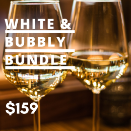 White and Bubbly Collection Mixed Case: 6 bottles